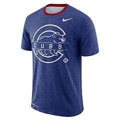 Nike Men's Chicago Cubs Dri-FIT Slubbed Tee