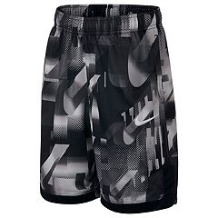 dd530d8d9d Boys 8-20 Nike Printed Training Shorts. Vast Gray White ...