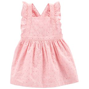 Baby Girl Carter's Embroidered Eyelet Dress
