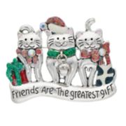 Holiday Cats Pin