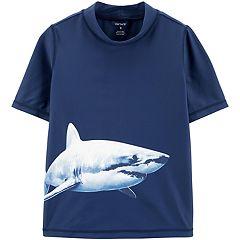 Boys 4-8 Carter's Shark Rashguard