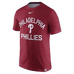 Men's Nike Philadelphia Phillies Dri-Fit Slub Tee