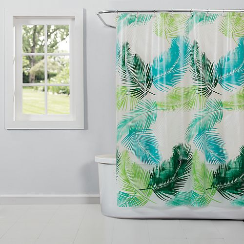 Saturday Knight, Ltd. Palm PEVA Shower Curtain