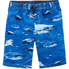 Boys 4-8 Carter's Shark Swim Trunks