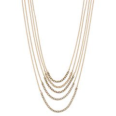 Simply Vera Vera Wang Multi Strand Long Necklace