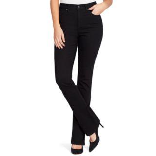 Petite Gloria Vanderbilt Amanda High-Waisted Bootcut Jeans