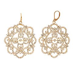 Simply Vera Vera Wang Gold Tone Drop Earrings