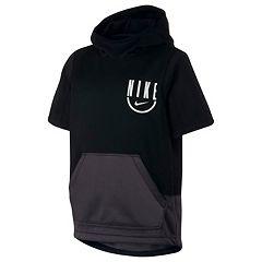 143a219cfd ... Colorblock Full-Zip Hoodie · Boys 8-20 Nike Spotlight Top. Black Gray  Habanero Red Black