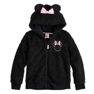 Disney's Minnie Mouse Girls 4-12 Plush Hoodie by Jumping Beans®