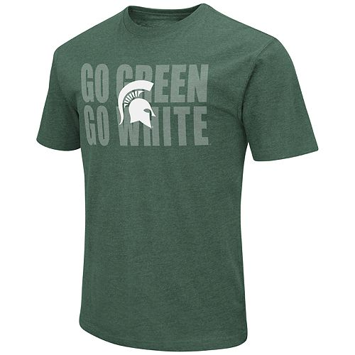 Men's Michigan State Spartans Motto Tee