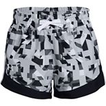 Girls Under Armour Print Sprint Shorts