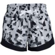 Girls Under Armour Print Sprint Shorts