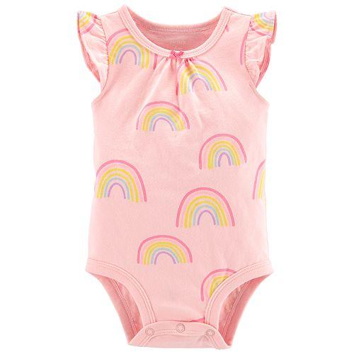 Baby Girl Carter's Rainbow Bodysuit