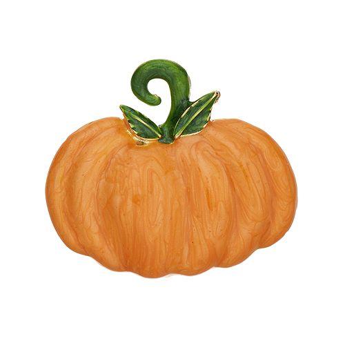 Orange Pumpkin Pin
