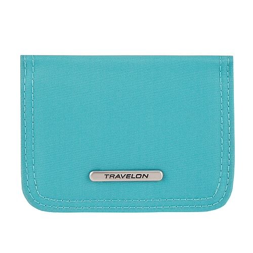 Travelon RFID Blocking Tailored Bifold Card Case