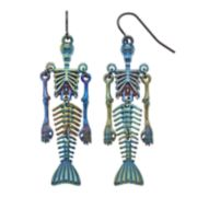 Shaky Skeleton Nickel Free Drop Earrings