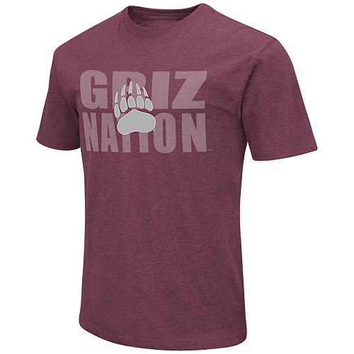 Men's Montana Grizzlies Motto Tee