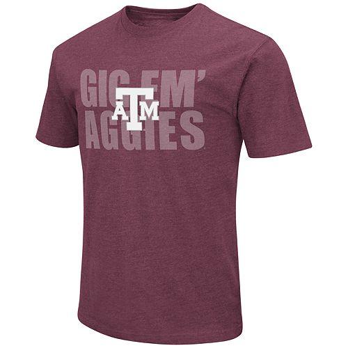 Men's Texas A&M Aggies Motto Tee