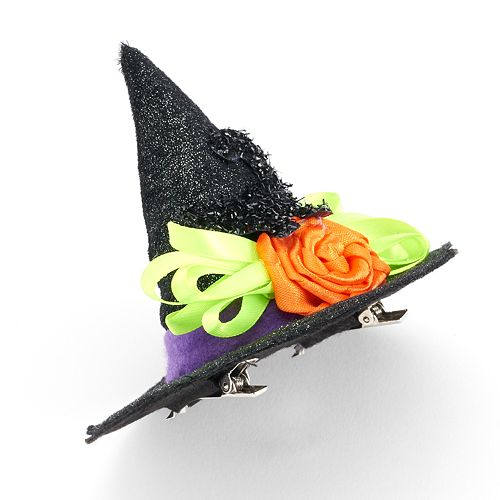 Halloween Witch's Hat Hair Clip