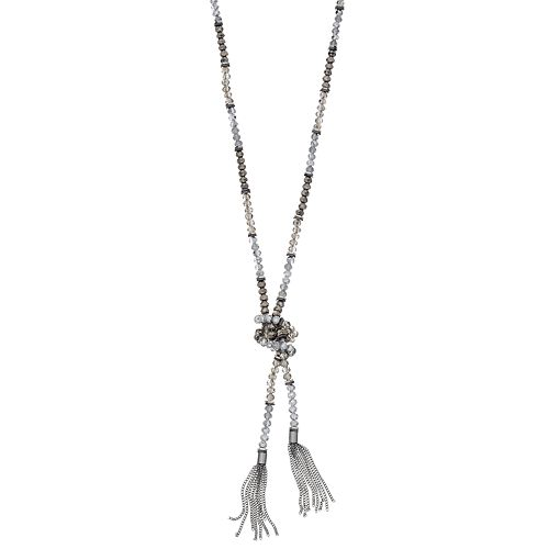 Simply Vera Vera Wang Double Tassel Necklace