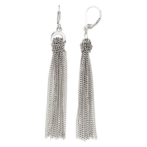 Simply Vera Vera Tassel Drop Earrings