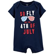 Baby Carter's 4th of July Romper