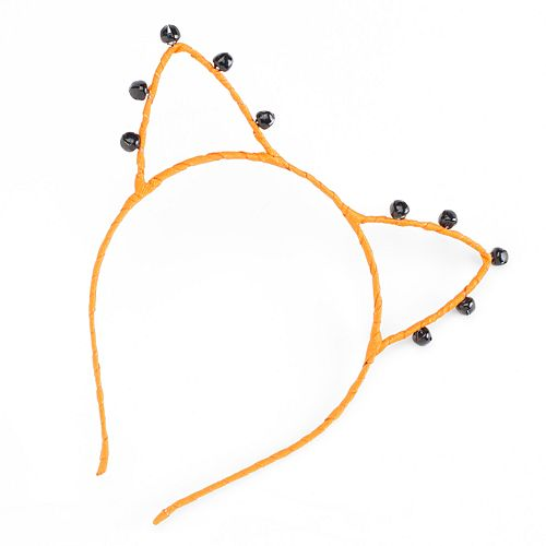 Halloween Bell Cat Ears Headband