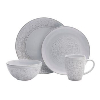 Pfaltzgraff 16-piece Blossom White Dinnerware Set