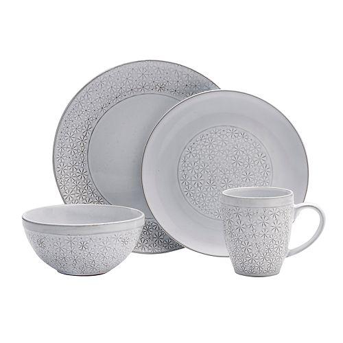 Pfaltzgraff 16-piece Blossom White Dinnerware Set
