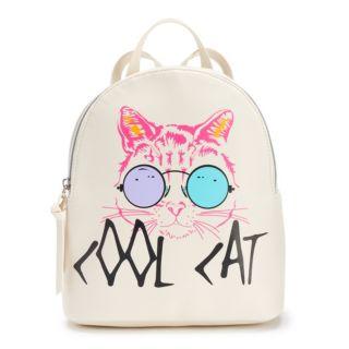 "T-Shirt & Jeans ""Cool Cat"" Mini Backpack"