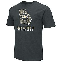 Men's Georgia Tech Yellow Jackets State Tee