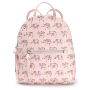 T-Shirt & Jeans Floral Elephant Mini Backpack