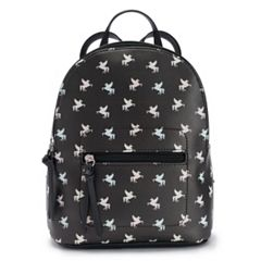 T-Shirt & Jeans Flying Unicorn Mini Backpack