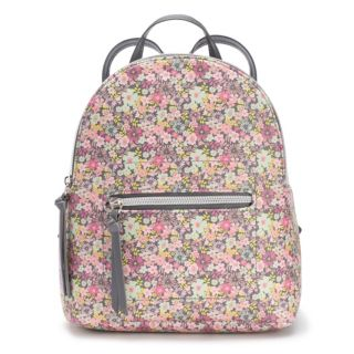 T-Shirt & Jeans Pastel Floral Mini Backpack