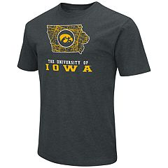 Men's Iowa Hawkeyes State Tee