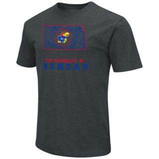Men's Kansas Jayhawks State Tee