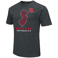 Men's Rutgers Scarlet Knights State Tee
