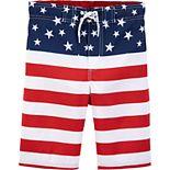 Boys 4-8 OshKosh B'gosh® Stars & Stripes Board Shorts