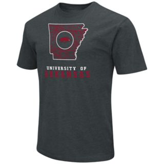 Men's Arkansas Razorbacks State Tee