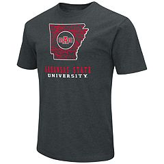 Men's Arkansas State Red Wolves State Tee