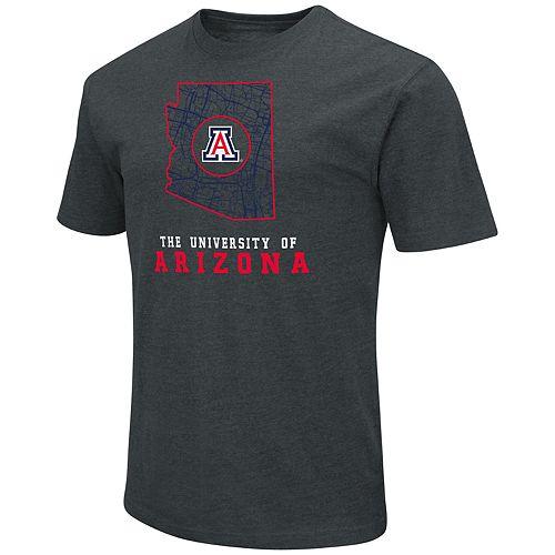 Men's Arizona Wildcats State Tee