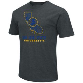 Men's San Jose State Spartans State Tee