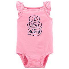 Baby Girl Carter's 'I Love My Auntie' Bodysuit
