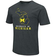 Men's Michigan Wolverines State Tee