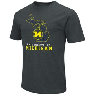 Men's Michigan Wolverines State Tee