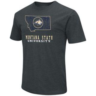 Men's Montana State Bobcats State Tee