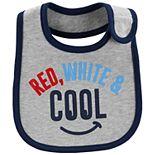"Baby Carter's ""Red, White & Cool"" Bib"