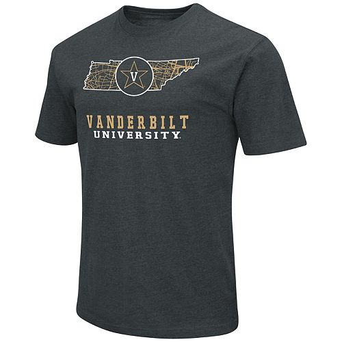 Men's Vanderbilt Commodores State Tee