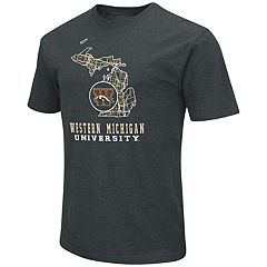 Men's Western Michigan Broncos State Tee
