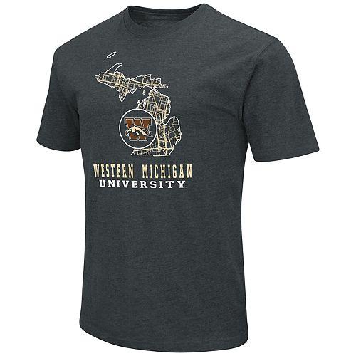 Men's Western Michigan Broncos State Tee